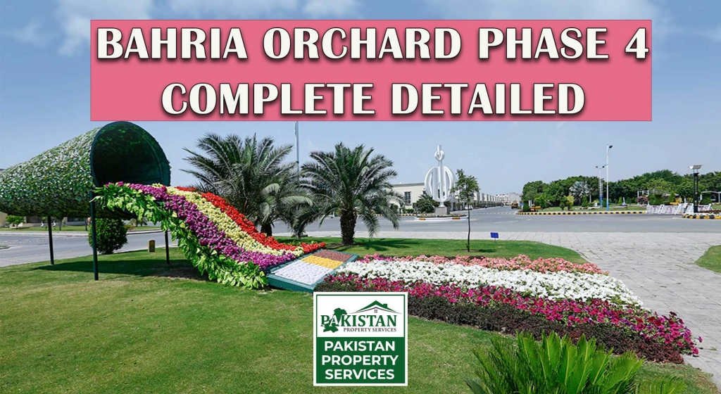 Bahria Orchard Phase 4 Latest Update