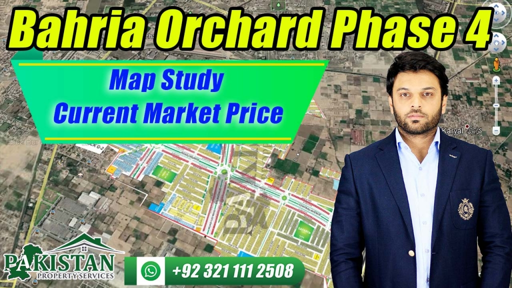 Bahria Orchard Phase 4 Map Study