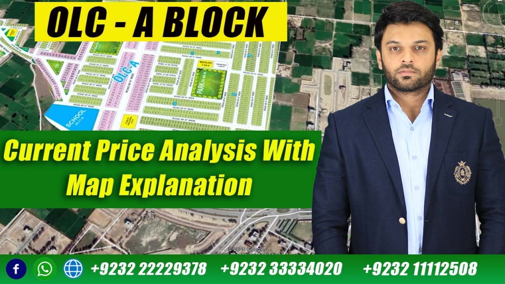 Bahria Orchard Lahore | OLC – A Block Map Study