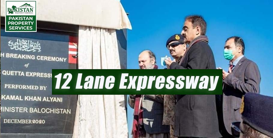 DHA Quetta 12 Lane Expressway