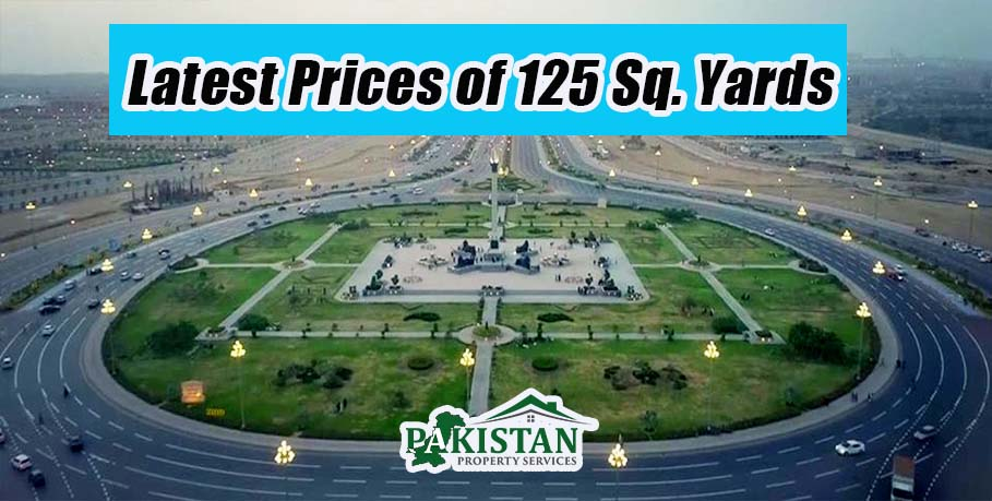 Latest Prices of 125 Sq Yards Plots