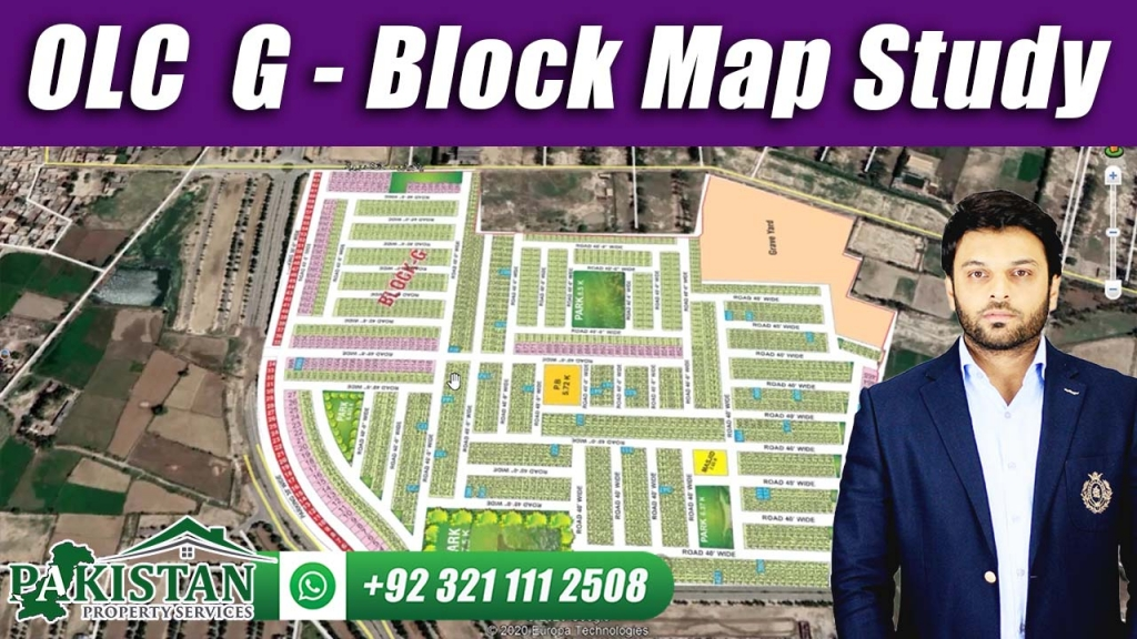 Bahria Orchard Phase 2 | OLC G Block Map Study
