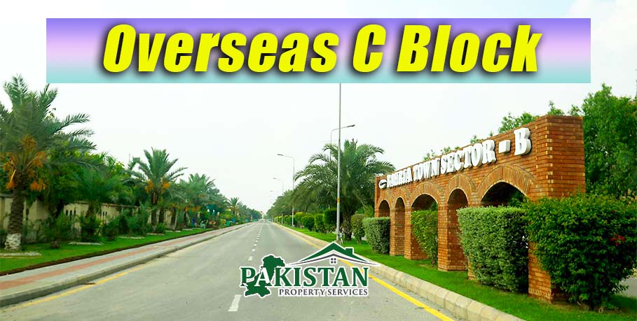 Overseas C Block New Block in Bahria Town Lahore