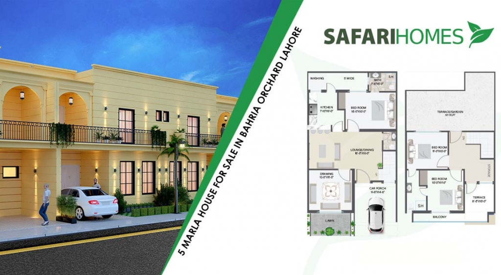 Top 5 Options of 5 Marla Houses on Installments in Lahore