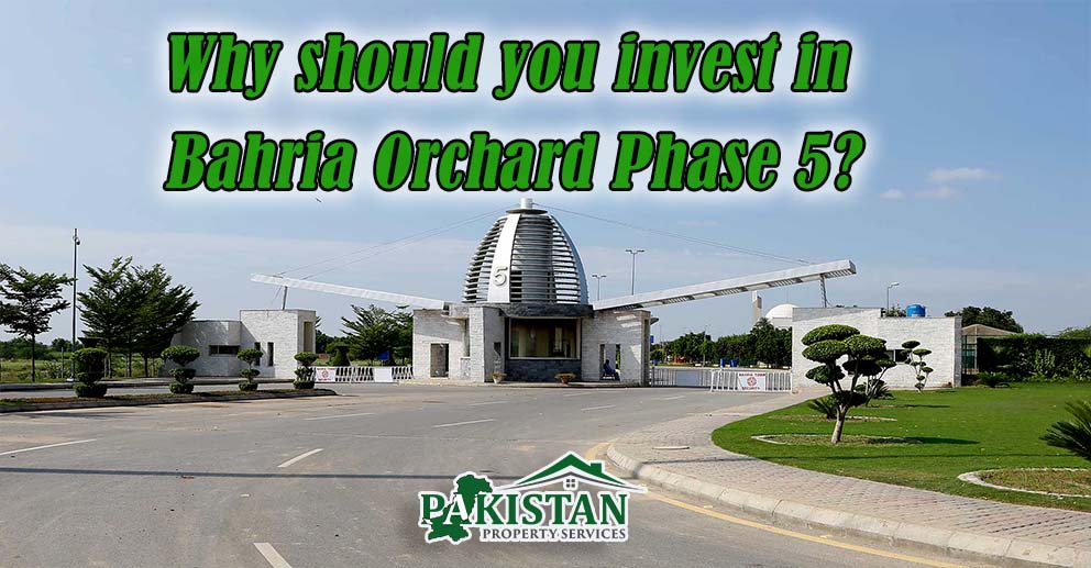 Why should you invest in Bahria Orchard Phase 5