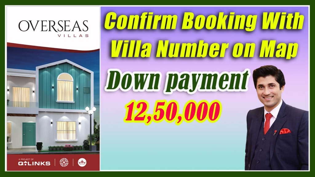 Overseas Villas Map | Confirm Locations | Bahria Orchard Lahore | OLC – B Block | PPS | Jan 2021