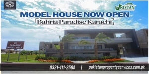 Bahria Paradise Villas karachi