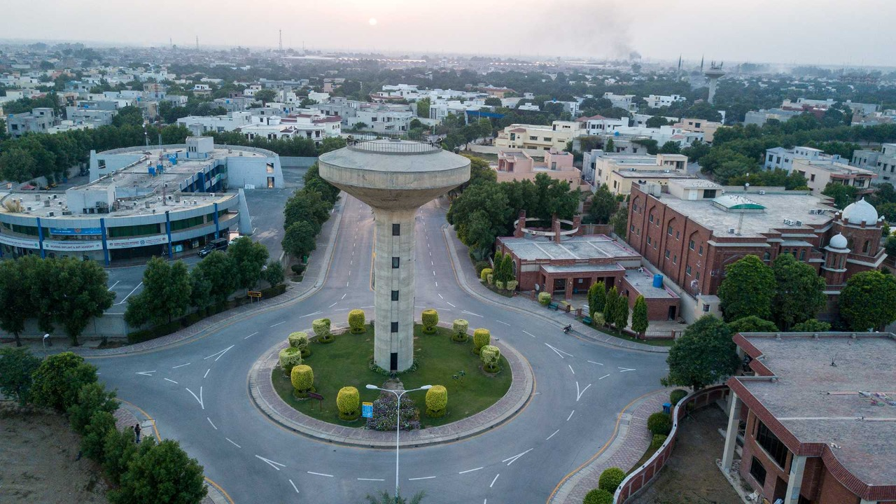 Bahria Town Lahore Sector A Location