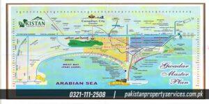 Canadian City Gwadar master plan