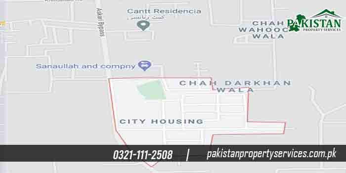 Citi Housing Multan Location