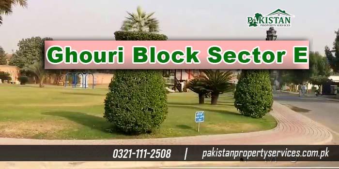 Ghouri Block Bahria Town