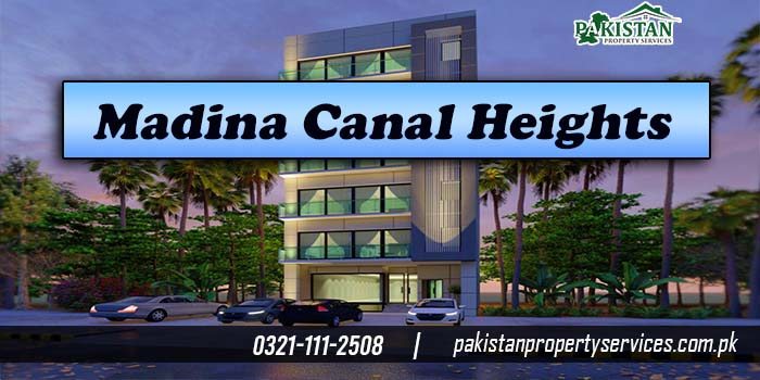 Madina Canal Heights Bahria Town Lahore