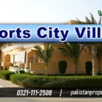 Sports City Villas Bahria Town Karachi