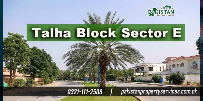 Talha Block Sector E