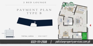 2 bedroom Residential Apartments
