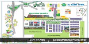 Al Kabir Town Phase 1 MAp