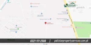 Al Kabir Town Phase 2 Location
