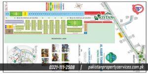 Al Kabir Town Phase 3 or Kings Town MAp