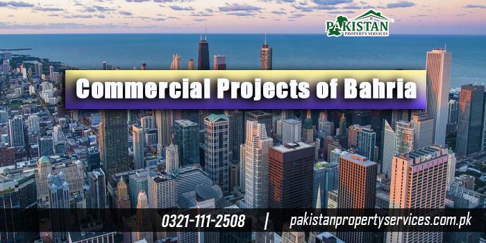 Commercial Projects of Bahria Town
