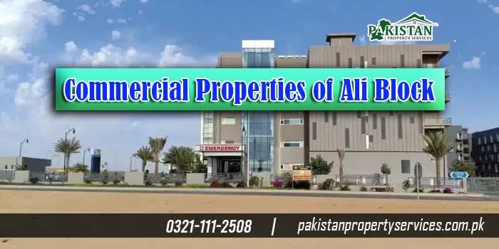 Commercial Properties of Ali Block