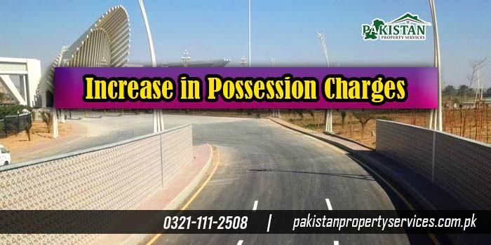 Increase in Possession Charges