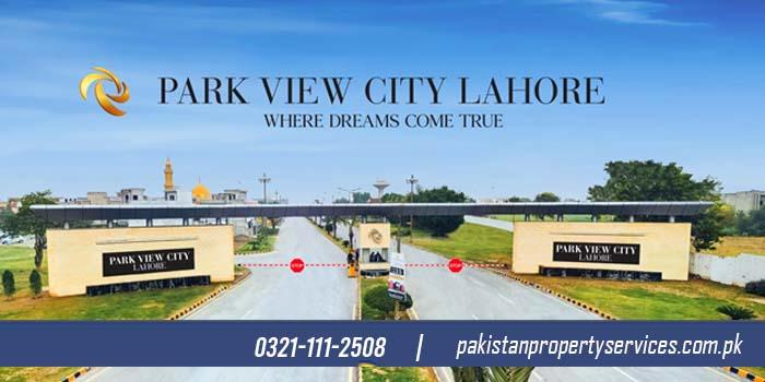 Overseas block of Park View City Lahore