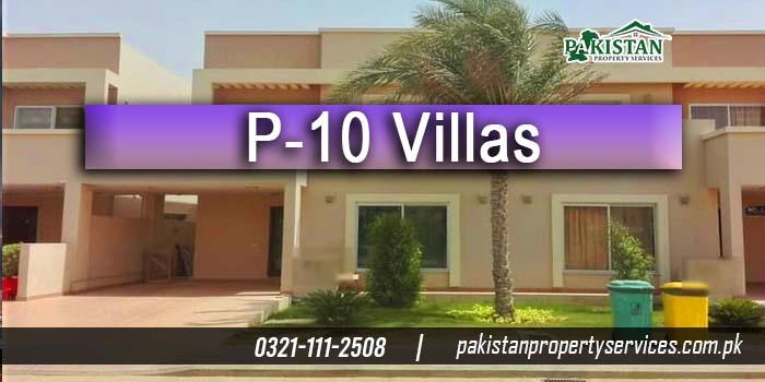 P-10 Villas By Bahria Town Karachi
