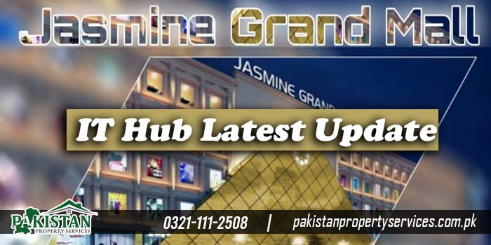 IT Hub in Jasmine Grand Mall and IT Market in Orchard Mall Lahore