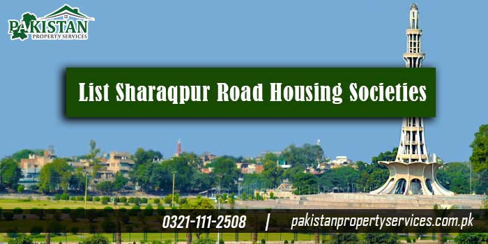 List of Best Sharaqpur Road Housing Societies