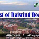 List of Raiwind Road Lahore Societies
