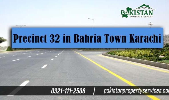 Precinct 32 in Bahria Town Karachi Location