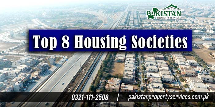 Top 8 Housing Societies to Invest