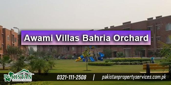 Awami Villas Bahria Orchard