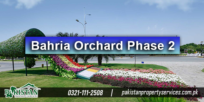 Bahria Orchard Phase 2 Location
