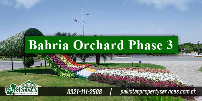 Bahria Orchard Phase 3
