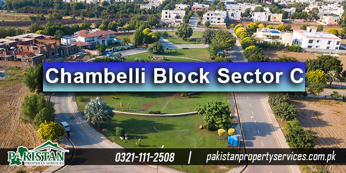 Chambelli Block Sector C Bahria Town Lahore