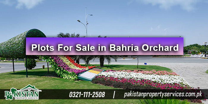 Plots For Sale in Bahria Orchard Lahore