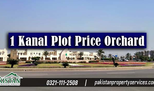 1 Kanal plot for sale in Bahria Orchard Lahore