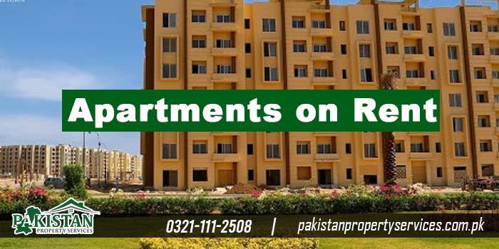Bahria Town Karachi Apartments on Rent