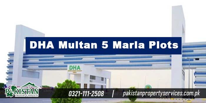 DHA Multan 5 Marla Plots