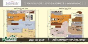 Iqbal Villa layout plan