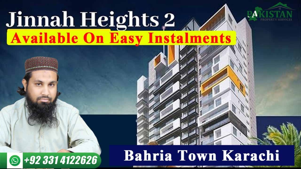 Jinnah Heights 2 | 2 Bed & 3 Bed Apartment | Available On Easy Instalments | Bahria Town Karachi