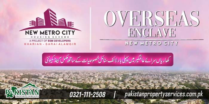 New Deal of Residential Plots in New Metro City Kharian