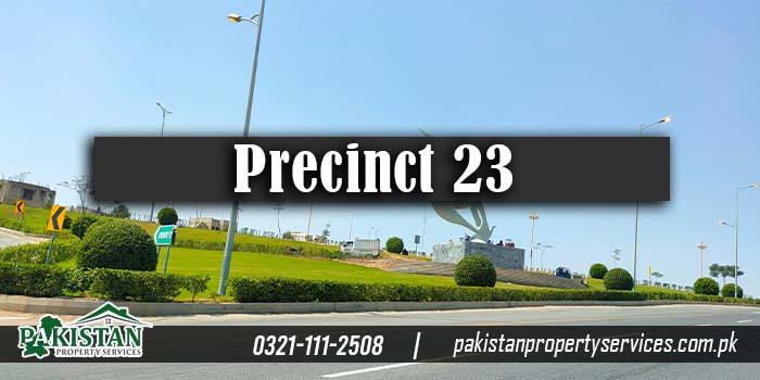 Precinct 23 Bahria Town Karachi