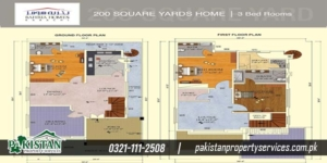 Quaid Villa layout plan