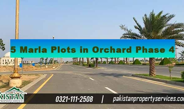 5 Marla Plots in Bahria Orchard Lahore Phase 4