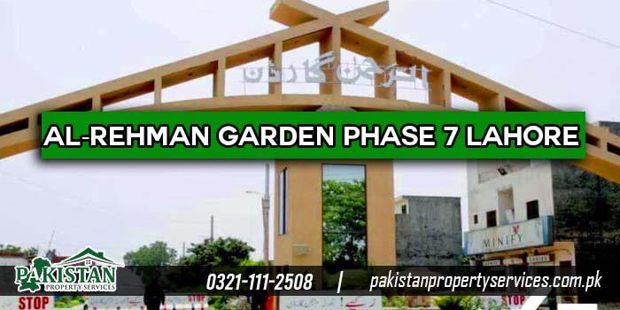 Al-Rehman Garden Phase 7 Lahore