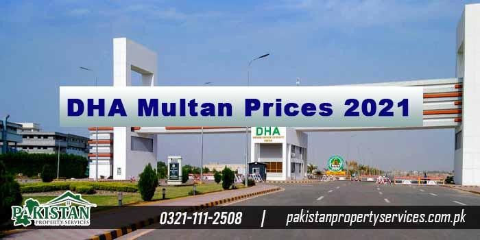 DHA Multan Prices 2021
