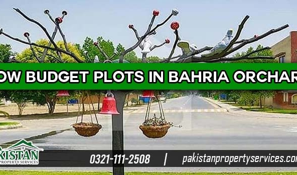 Low Budget Plots in Bahria Orchard Lahore