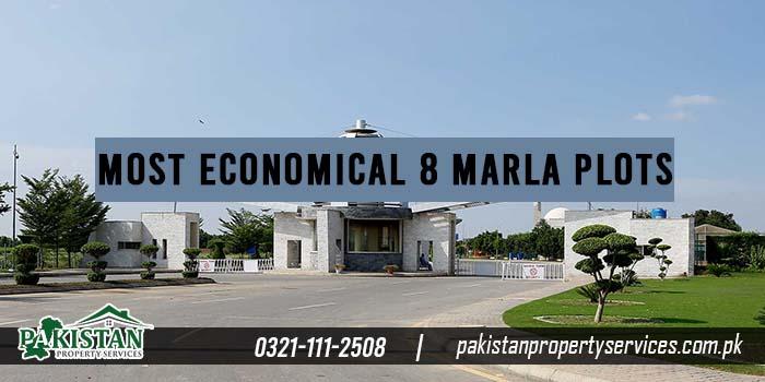Most Economical 8 Marla Plots Options